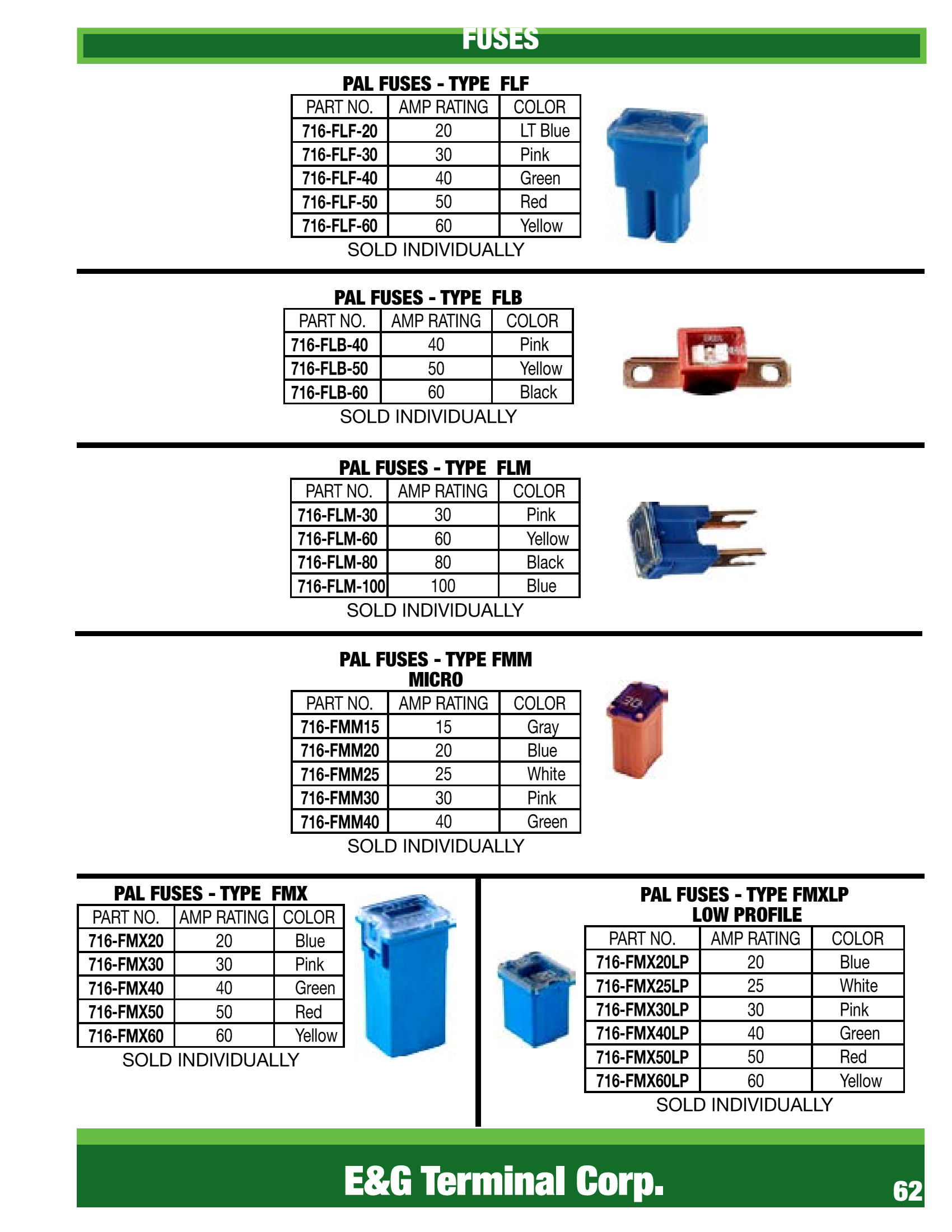 ELECTRICAL, WIRE & SWITCHES – E & G Terminal 303-287-2900